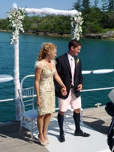 Bermuda Yacht Wedding