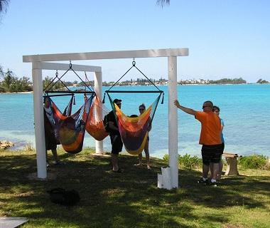 hammocks at black bay beach  rh   thinkingofbermuda
