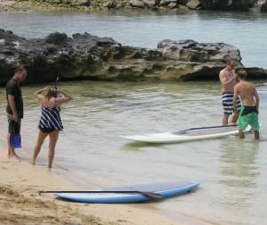 Stand-up paddle board rentals Bermuda