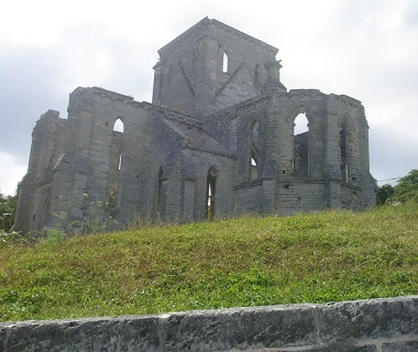 Unfinished Church in St. Georges