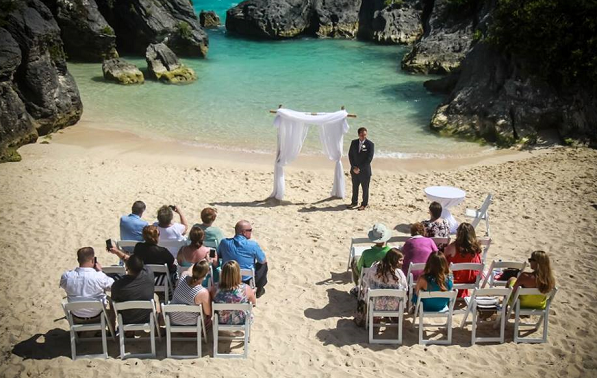 Jobson S Cove Beach Wedding
