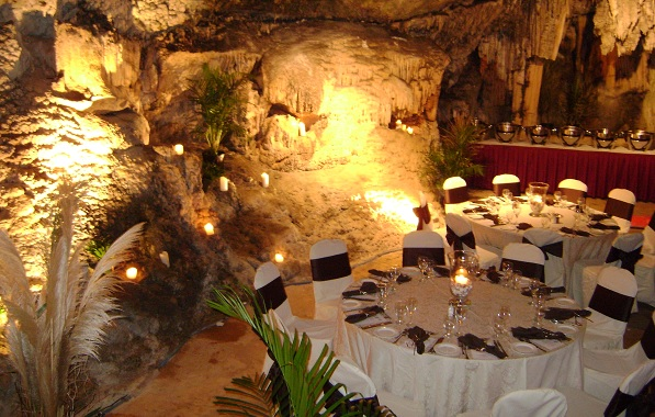 Bermuda Cave Wedding