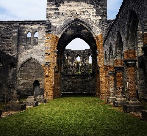 Unfinished Church Bermuda
