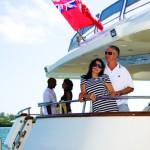 Yacht charters - Stern of MV Venetian