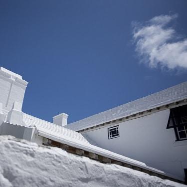 Bermuda white rooftops