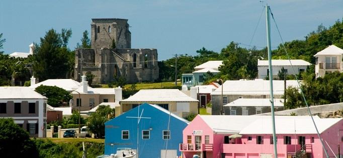 White Rooftops in Bermuda