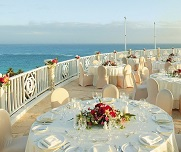 Ocean terrace reception