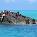 Go see shipwrecks around the island