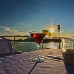 Enjoy a sunset cruise