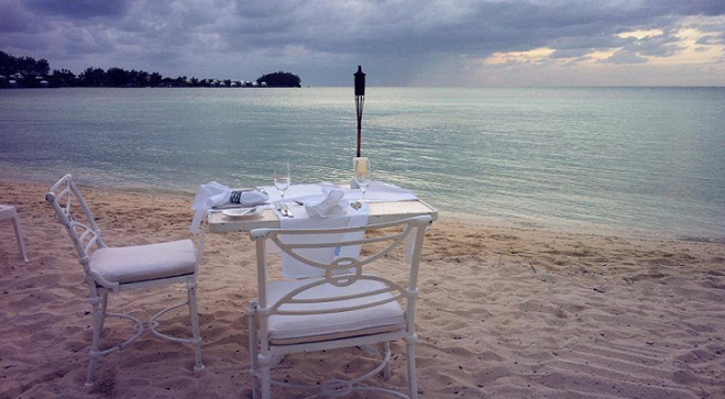 Private Dinners on the Beach