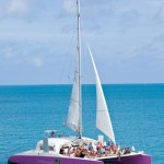 Head out on a charter with the sails up