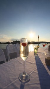 Drink Champagne on a Sunset Cruise