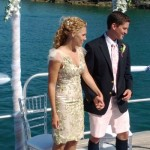Getting Married at Sea - Couple at the Alter