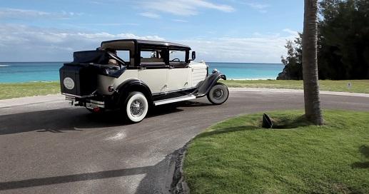 Vintage Car in Bermuda for Rent