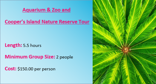 Bermuda Aquarium Tour Rates