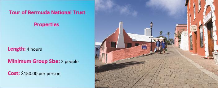 Bermuda National Trust Tour Prices