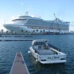 Boat docked in Dockyard