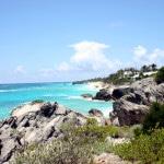 Coastline along Bermuda