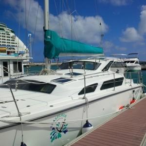 Catamaran Charter Boat