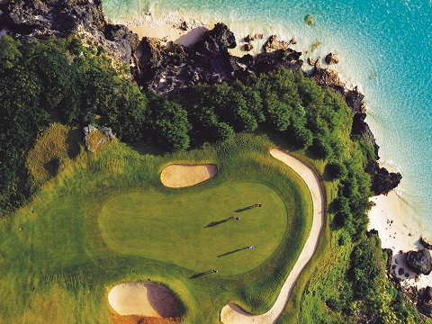 Hole 16 at Port Royal Golf Course, Bermuda