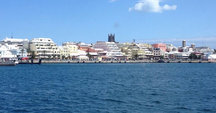 Hamilton Bermuda - Scene of the 2015 America's Cup World Series Event