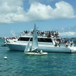 Large Group of People on the Yacht