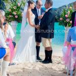 Beach Wedding in Bermuda Shorts