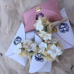 Bride and Bridesmaids Flowers & Purses