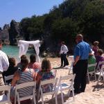 Jobsons Cove Beach Wedding