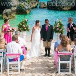 Gorgeous Wedding on the Beach - Bermuda shorts on the Groom