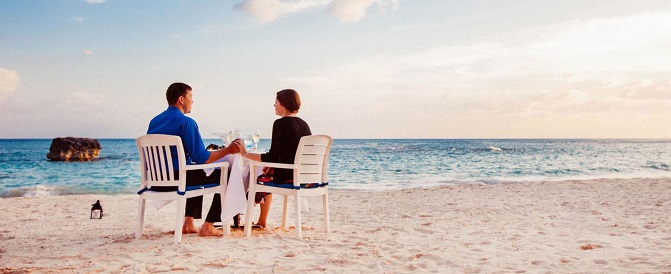 Enjoy Dinner on the Beach in Bermuda