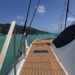 Walking Up the Side of the Yacht